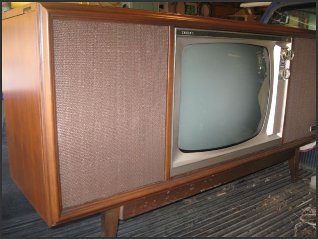 Antique radio forums view topic zenith tv console